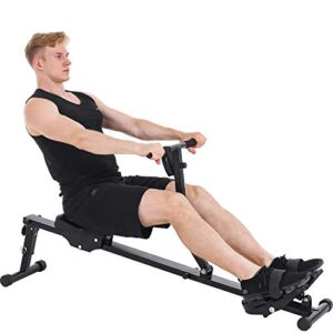 KUCATE Rowing Machine Rower for Home Use,12 Levels Adjustable Res...