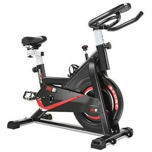 RELIFE REBUILD YOUR LIFE Exercise Bike Indoor Cycling Bike Fitnes...