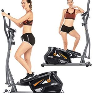 ANCHEER Eliptical Exercise Machine, Magnetic Elliptical Cross Tra