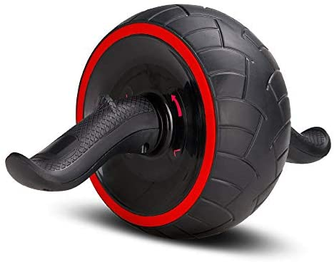ACEmedia Ab Wheel Roller with Knee Pad Pro Fitness Equipment Ab W