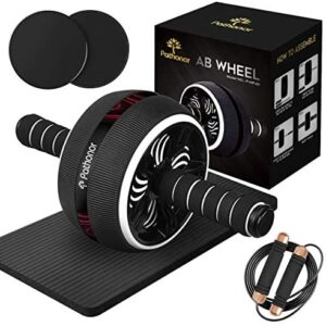 Ab Roller Wheel, Pathonor Abs Roller Wheel Kit with Core Sliders,