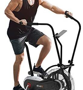 Ativafit Fan Bike Exercise Upright AirBike Indoor Cycling Fitness