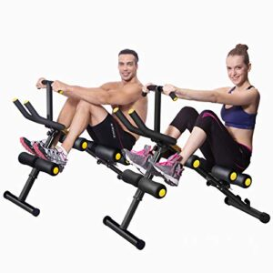 MBB 12 in 1 Home Gym Equipment,Ab Machine,Height Adjustable Ab Tr...