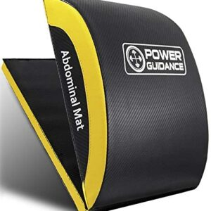 POWER GUIDANCE Ab Exercise Mat - Sit Up Pad - Abdominal & Core Tr