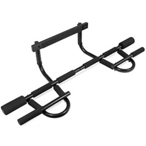 ProsourceFit Multi-Grip Chin-Up/Pull-Up Bar, Heavy Duty Doorway T...