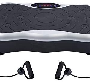 Real Relax Mini Vibration Plate Exercise Machine Full Whole Body