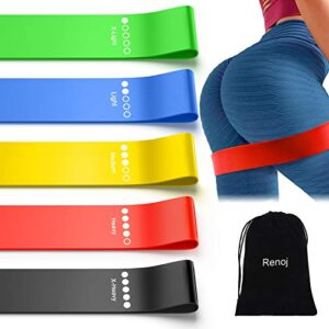 Resistance Exercise Bands Set for Booty Bands with Instruction Gu...
