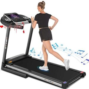 """SYTIRY Treadmill with Screen,Treadmills for Home with 10"""" HD tv T"""
