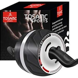 TOSAMC Ab Roller Wheel for Core Workouts; Ab Carver Home Abdomina