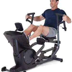 Teeter Power10 Rower with 2-Way Resistance Elliptical Motion – In