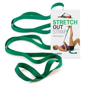 The Original Stretch Out Strap with Exercise Book – Made in the U...