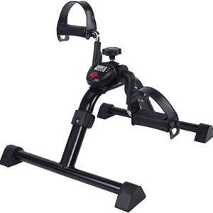 Vaunn Medical Folding Pedal Exerciser with Electronic Display for