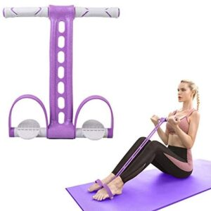 AIKOTOO Pedal Resistance Band Elastic Pull Rope Fitness Sit-up Ex