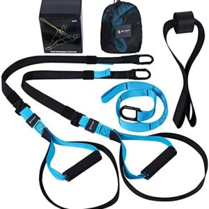 5BILLION FITNESS Home Gym Strength Trainer Straps Kit,Exercise Bands wi